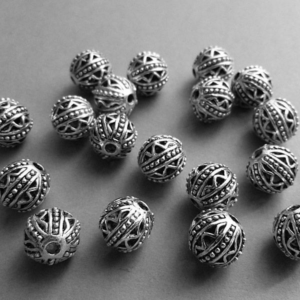Metall Perle - 11 mm