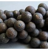 Bronzit Perle 8 mm - matt