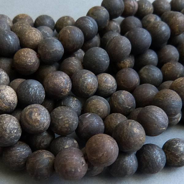 Bronzit Perle 6,5 mm - matt