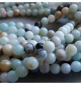 Amazonit Perle 6 mm