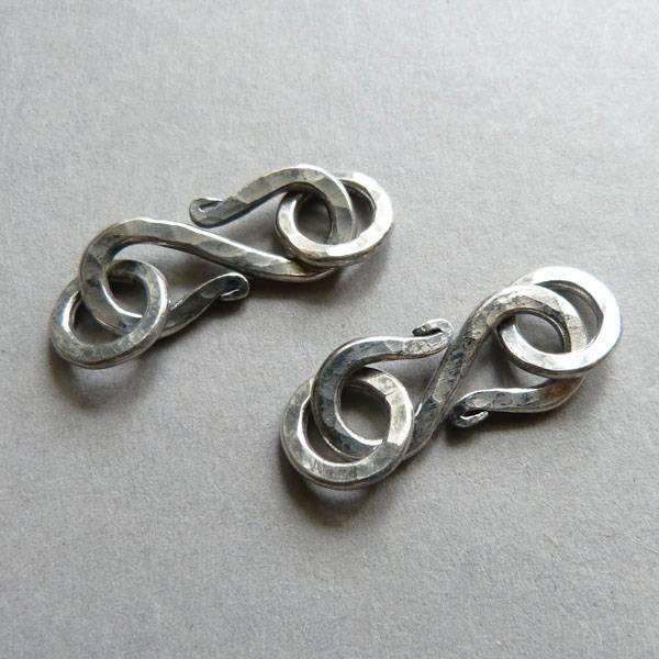 S-Haken Verschluss Silber - 24 mm