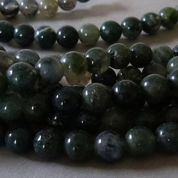 Achat Perle 8,3 mm - Moos Achat