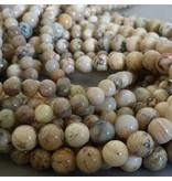 Afrikanische Opal Perle 6 mm sand/natur