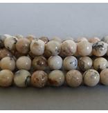 Afrikanische Opal Perle 8 mm sand/natur