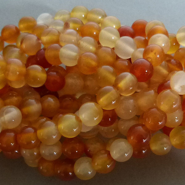 Karneol Perle 6 mm