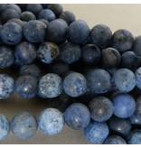 Dumortierit Perle 8,4 mm - matt
