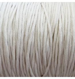 Griffin GmbH 5 Meter Baumwollband - 0,8 mm weiß