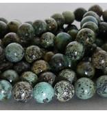 Chrysokoll-Diorit Perle 6,4 mm