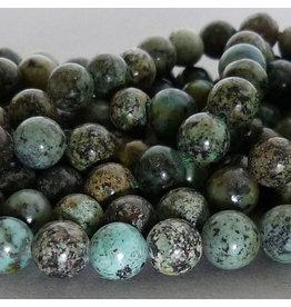 Chrysokoll-Diorit Perle - 8 mm
