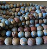 Sea Sediment Jaspis 8,2 mm - matt