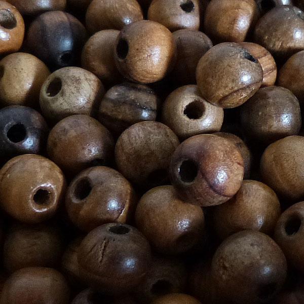 Oliven Holz Perle 10 mm