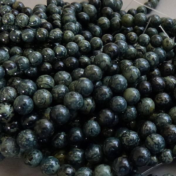 Rhyolith - Regenwald Jaspis 6 mm