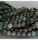 Chrysokoll-Diorit Perle 10,7 mm