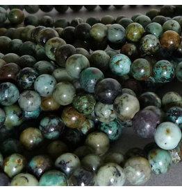 Chrysokoll-Diorit Perle 10,3 mm