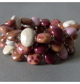 Kazuri Perlen Armband