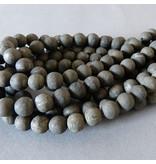 Pyrit Perle 5,8 mm  - matt