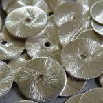 Metall Perlen versilbert