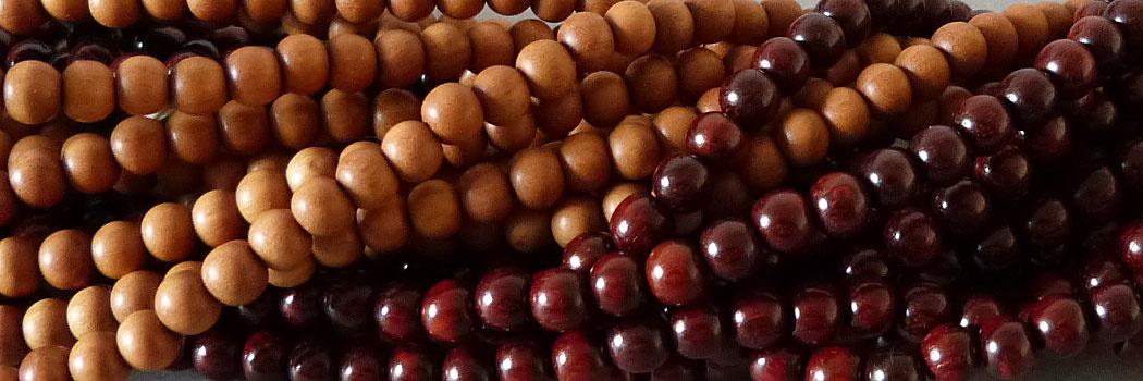 Sandelholz Perlen