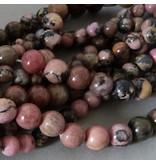 Rhodonit Perle 6,3 mm