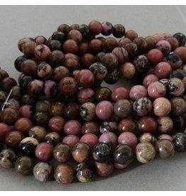Rhodonit Perle 6,5 mm