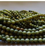 Jade Perle 6,5 mm - chinesische Jade