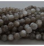 Mondstein Perle grau 6,3 mm