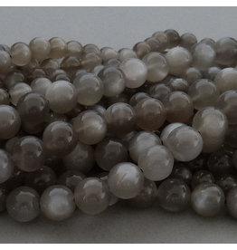 Mondstein Perle grau 6,2 mm