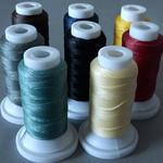 Polyester Garn gewachst - 0,8 mm Stärke