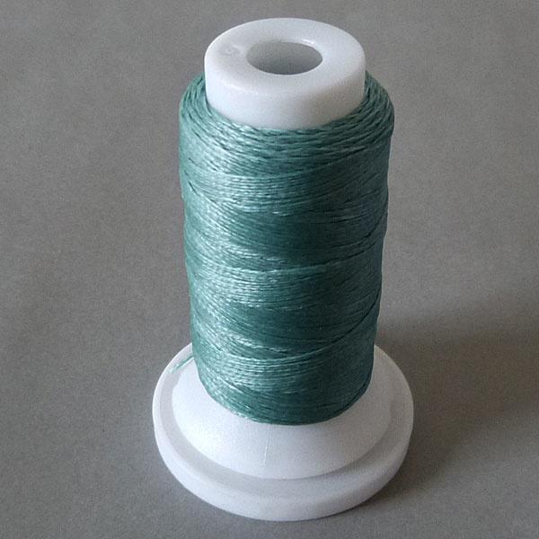 Polyester Garn 0,8 mm - mint - gewachst