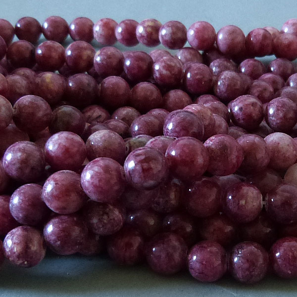 Rhodonit Perle 8,5 mm