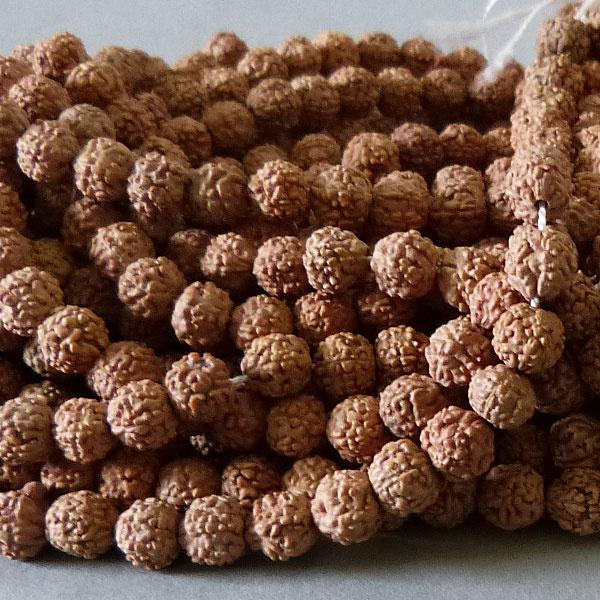 Rudraksha Samen Perle 6 mm