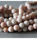 Jaspis Perle 8,5 mm - matt - Netzstein