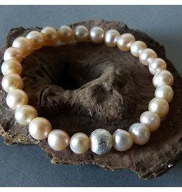 Süßwasser Perlen Armband - rosé