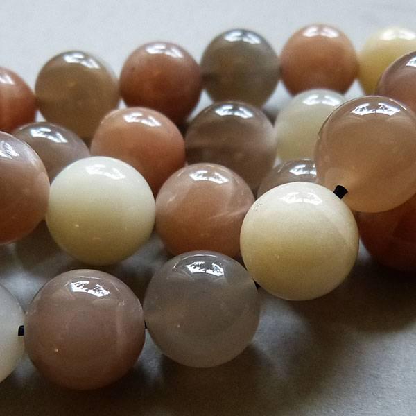 Mondstein Perle 10,2 mm