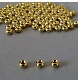 Metall Rolle vergoldet 5 mm