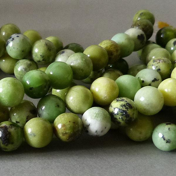 Chrysopras Perle 10 mm