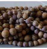 Jaspis Perle 6,3 mm - matt - Elefantenhaut Jaspis