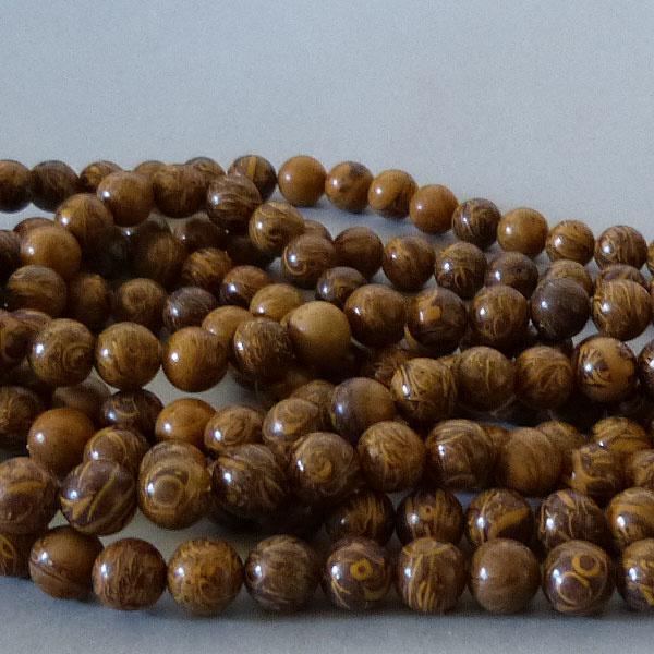 Jaspis Perle 8,6 mm - Elefantenhaut Jaspis