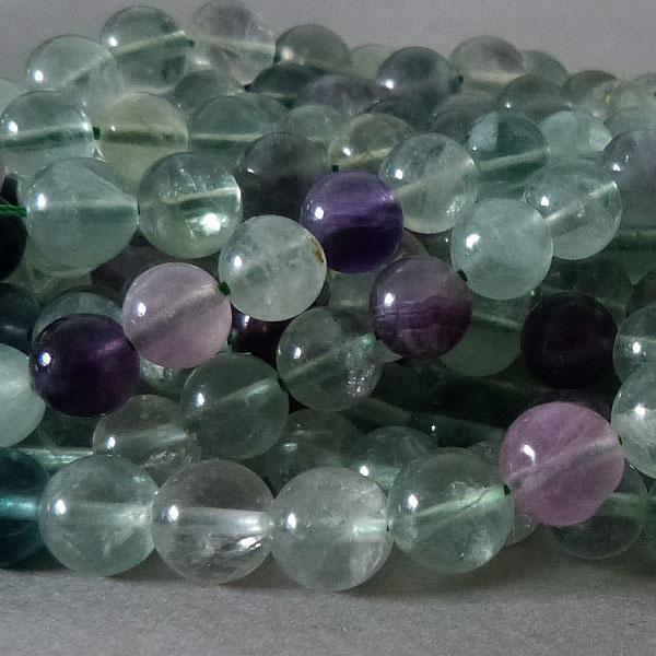 Fluorit Perle 10,3 mm - B - Qualität