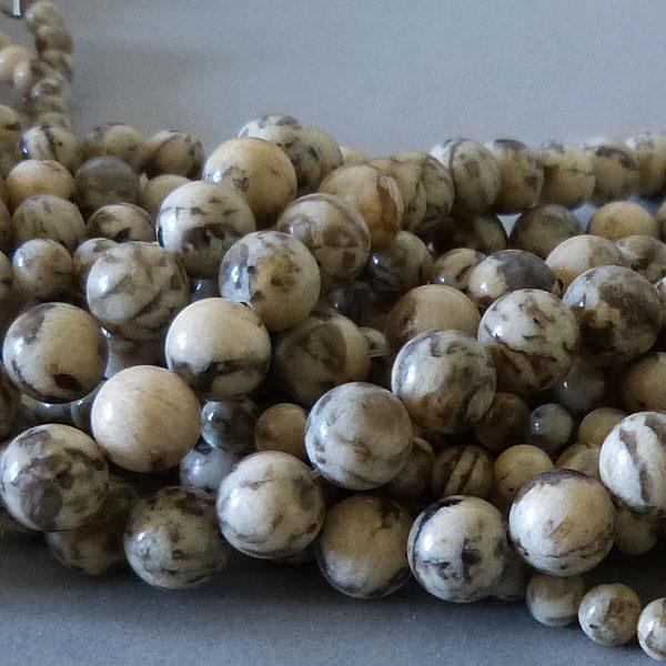 Feldspat Perle 10,4 mm