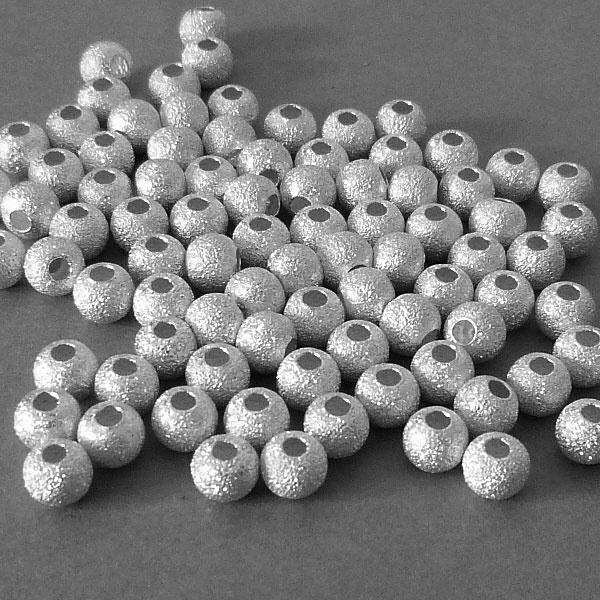 Sterling Silber Perle - 5 mm