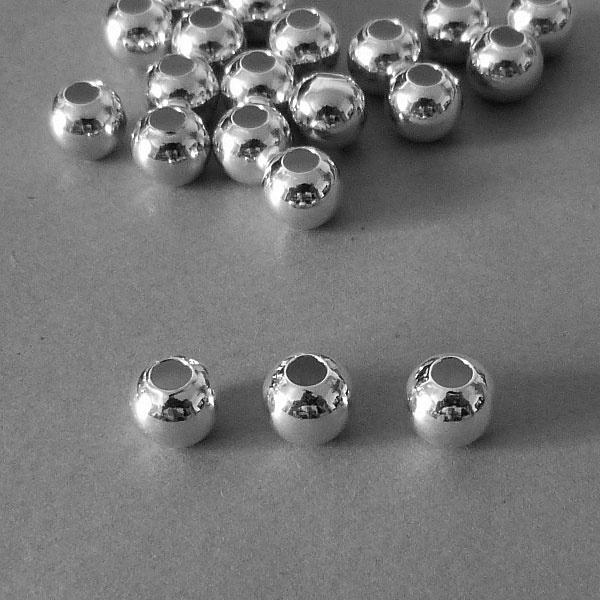 Sterling Silber Perle - 8 mm