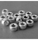 Sterling Silber Rolle - 7 mm