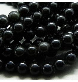 Obsidian Perle 6,5 mm
