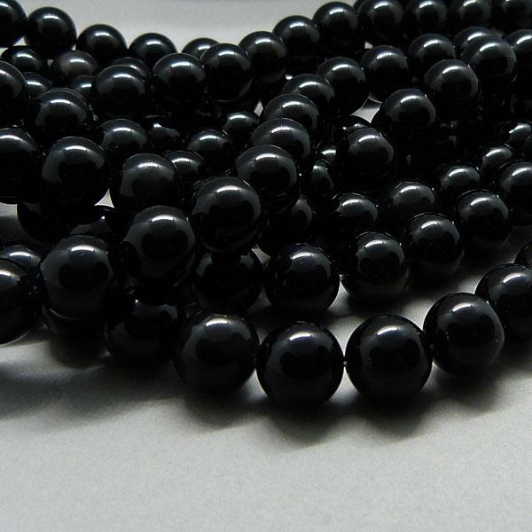 Obsidian Perle 8 mm