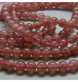 Erbeer Quarz Perle 6,5 mm