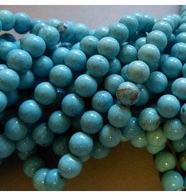Howlith Perle 8,5 mm - türkis