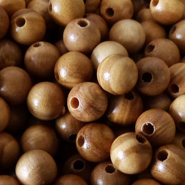 Oliven Holz Perle 6,6 mm