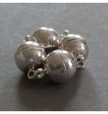 Edelstahl Magnet Verschluss - 8 mm