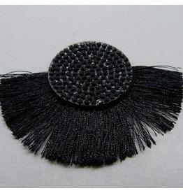 Quaste - schwarz